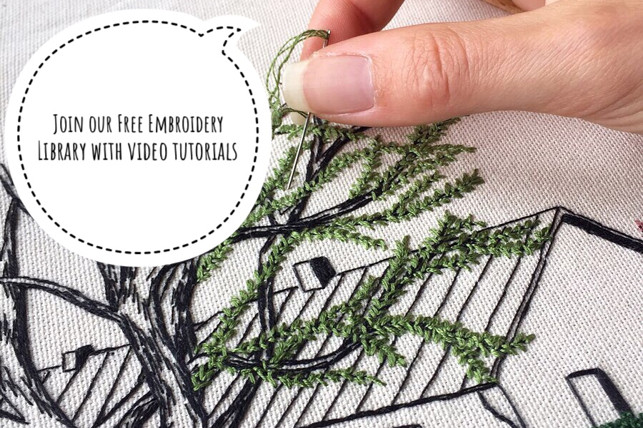 Free Embroidery Library by Charles and Elin