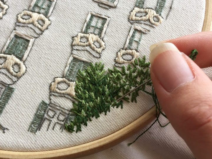 How to do embroidery?