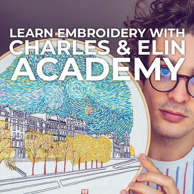 Learn embroidery with online courses
