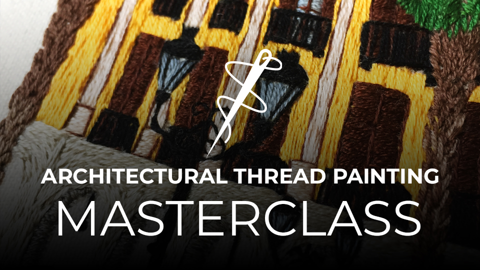 Architectural Thread Painting Online Course