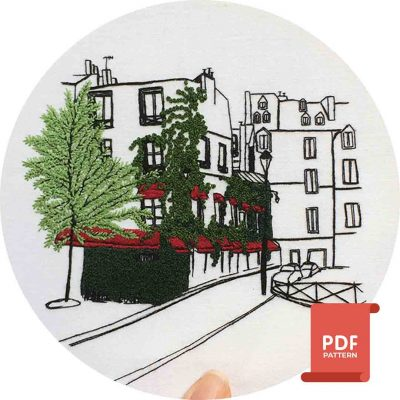 Le Marais Embroidery Pattern