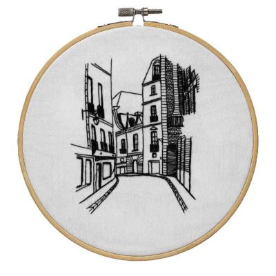 Parisian Street Embroidery