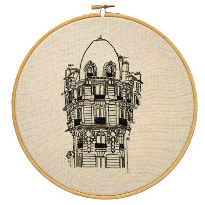 Parisian Building Embroidery
