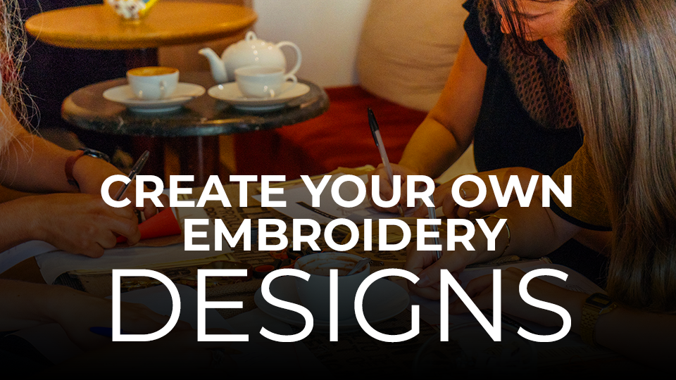 Create your own embroidery design online course