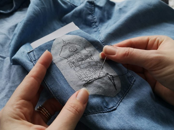 Upcycle Your Denim Shirt