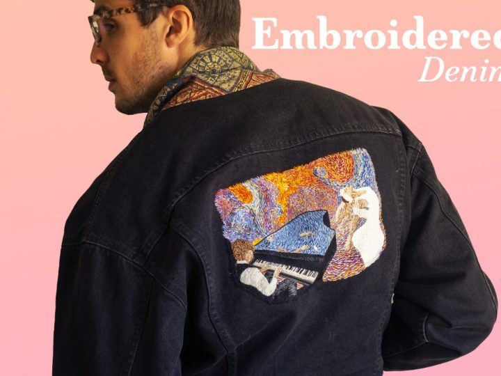Wearable art – Upcycle your clothes with your embroideries