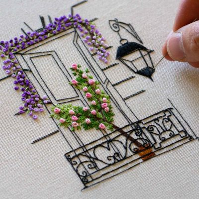 Parisian Window Close Up