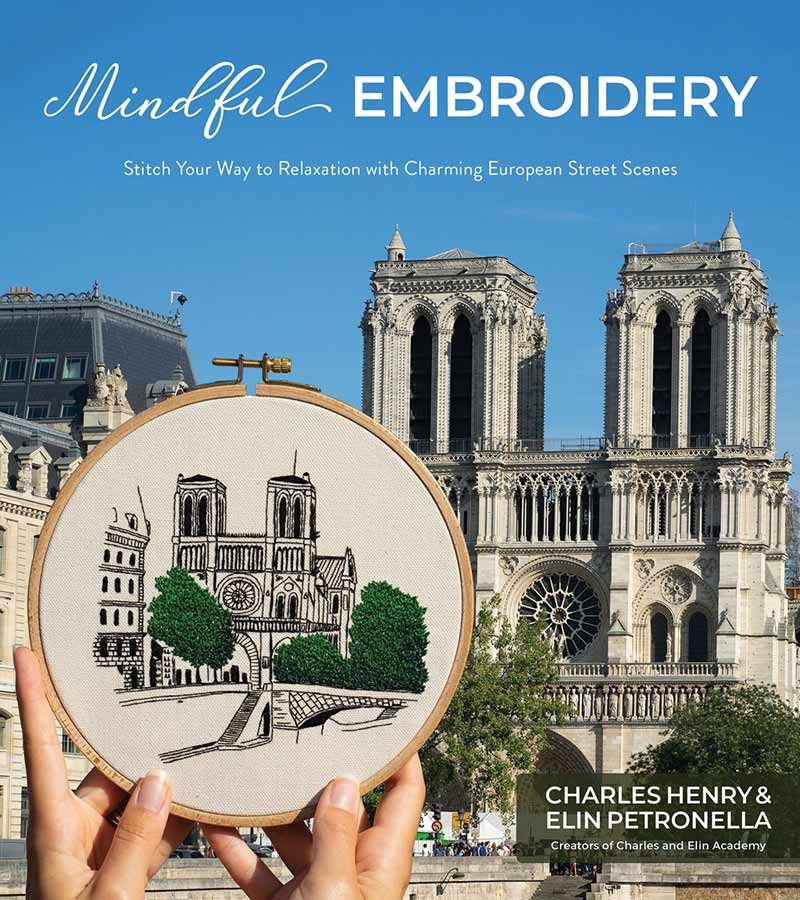 Mindful Embroidery Book by Charles and Elin