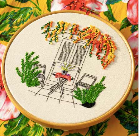 Mindful Embroidery By Charles and Elin